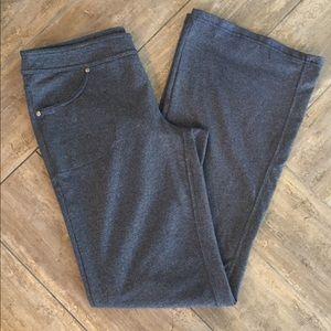 athleta heather workout pants size medium